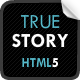 TrueStory - Fullscreen HTML5 Template - ThemeForest Item for Sale