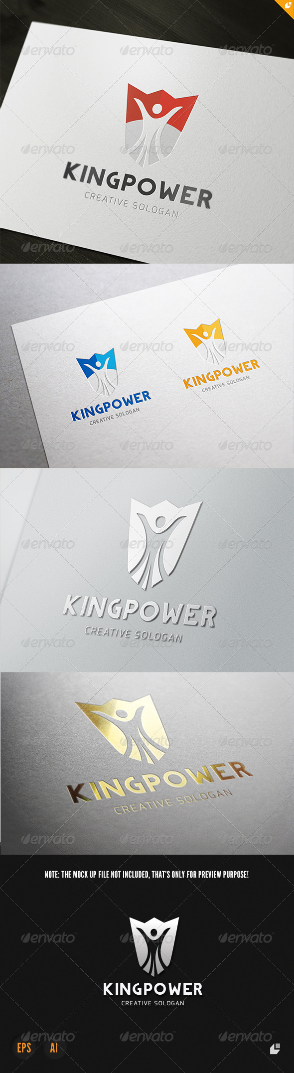 King Power Logo - Crests Logo Templates