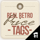 Set of 12 Retro Price Tags - GraphicRiver Item for Sale