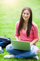 Hispanic college student with laptop - PhotoDune Item for Sale