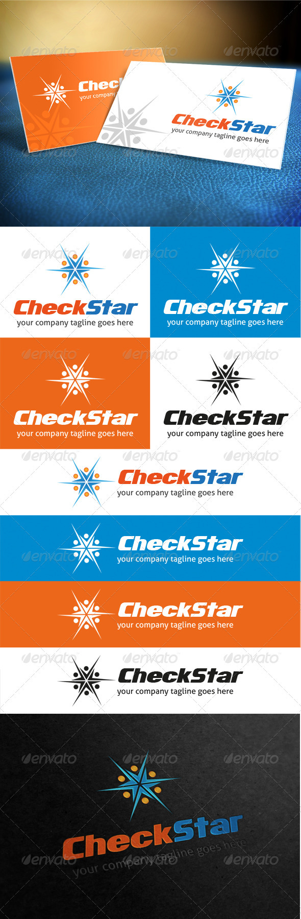 GraphicRiver Check Star Logo 3905071