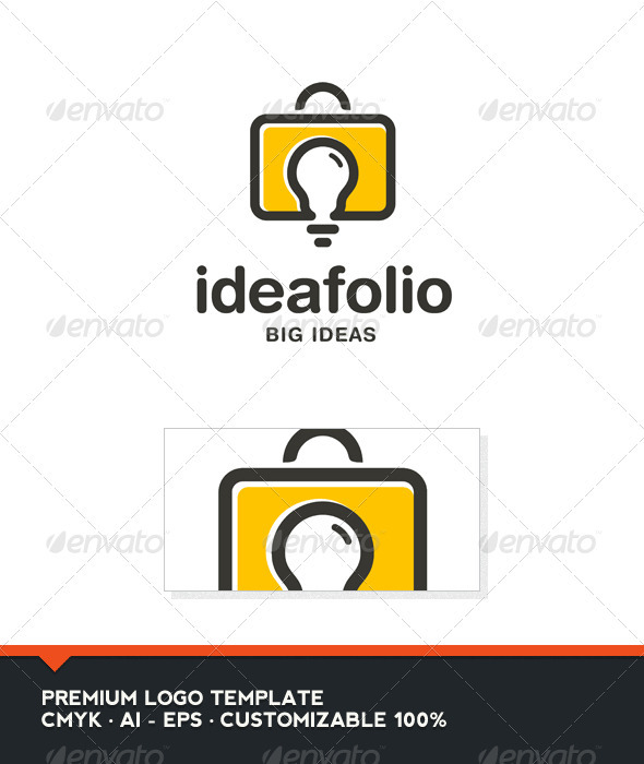 GraphicRiver Idea Folio Logo Template 3905394