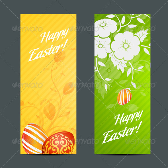 GraphicRiver Easter Holiday Set 3905864