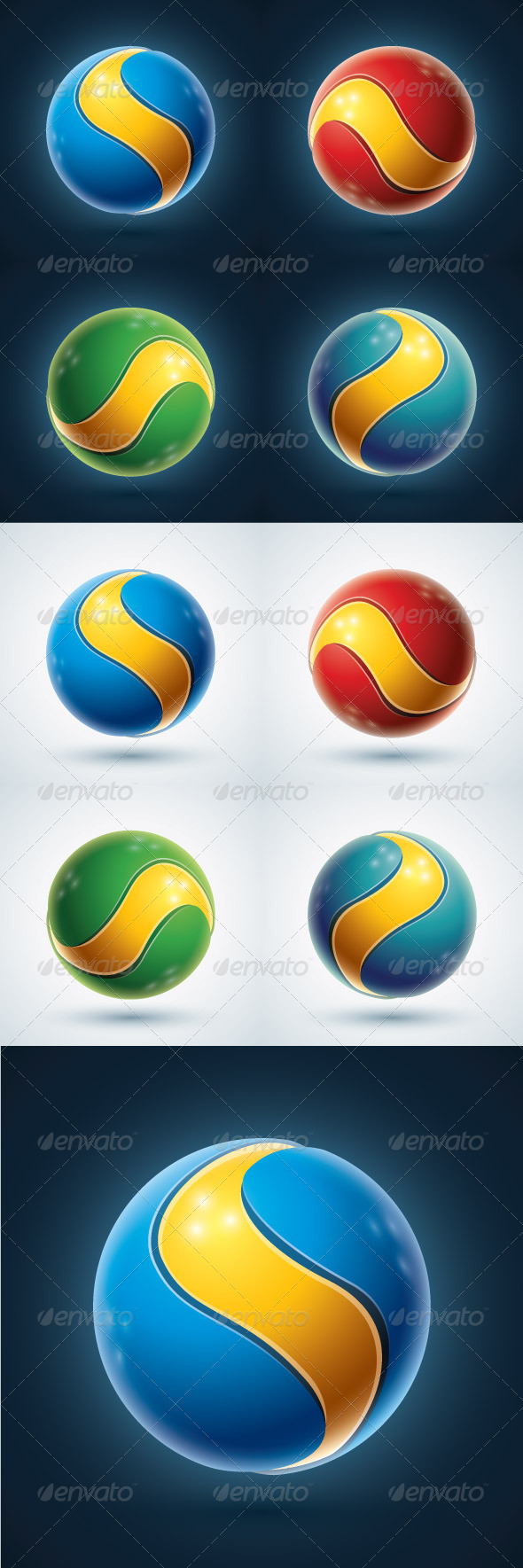 GraphicRiver 3D Sphere Design Element 3908391