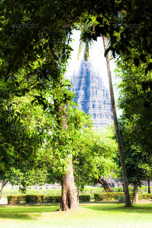 PhotoDune Hindu temple Prambanan Indonesia Java Yogyakarta 3911797