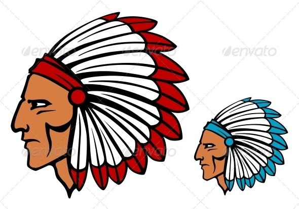 GraphicRiver Brave tomahawk mascot 3910094