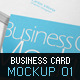 Business Card Mockup 01 - GraphicRiver Item for Sale