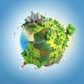 Idyllic world globe concept - PhotoDune Item for Sale