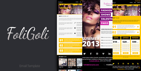FoliGoli Email Template