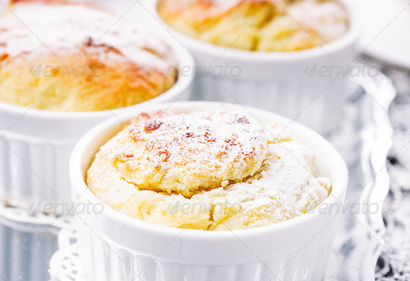 Cheese cupcakes - Stock Photo - Images