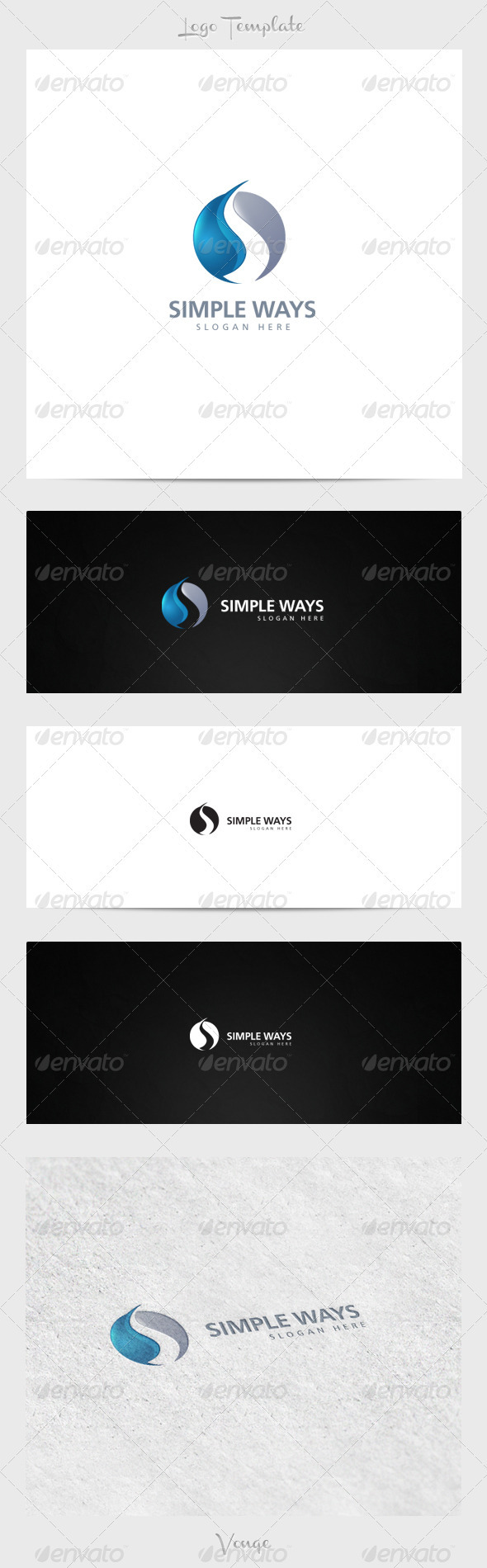 GraphicRiver Simple Ways 3915857