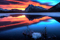 Sunset Mount Rundle - PhotoDune Item for Sale