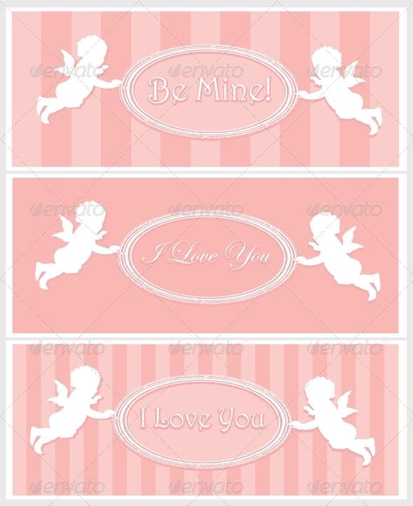 GraphicRiver Valentine Card Design 3916884