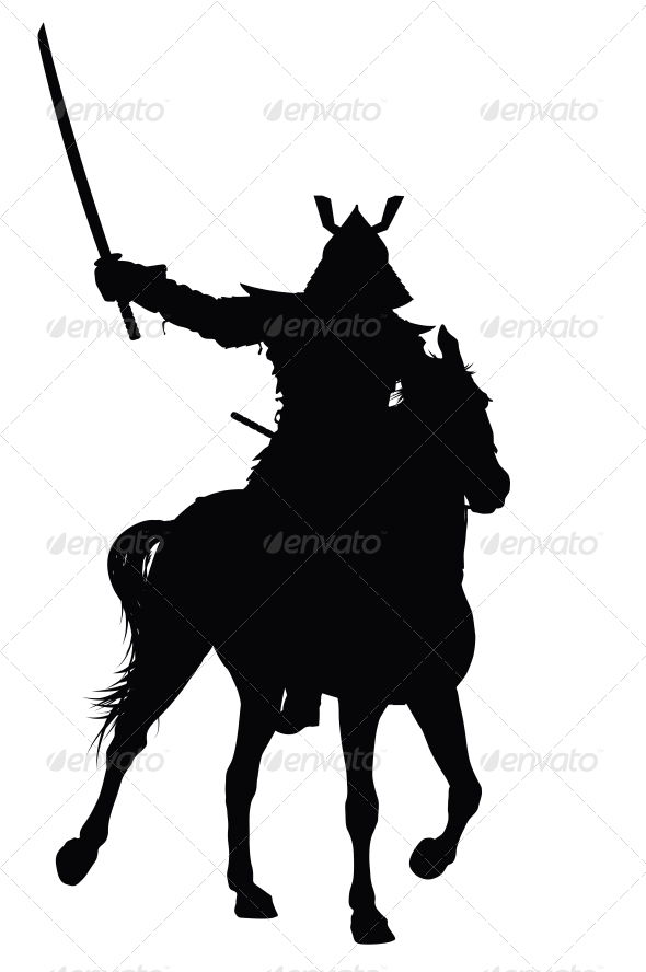 GraphicRiver Vector Horseman 3916943