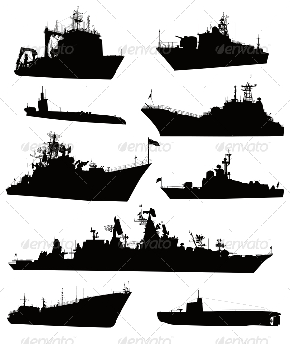 GraphicRiver Naval Set 3917166