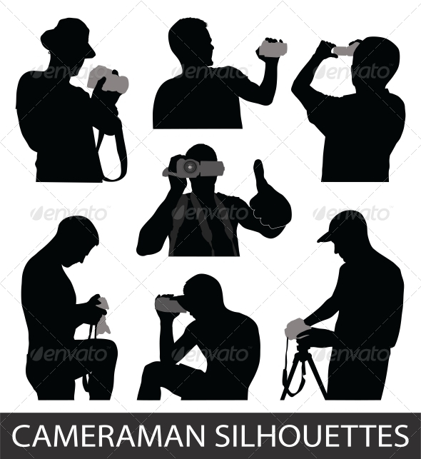 GraphicRiver Cameramen 3917363