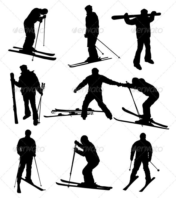 GraphicRiver Ski Set 3917478