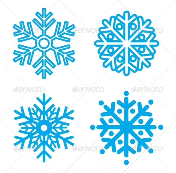 GraphicRiver Snowflakes 3917658