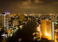 Modern city view of Bangkok, Thailand. Cityscape. - PhotoDune Item for Sale