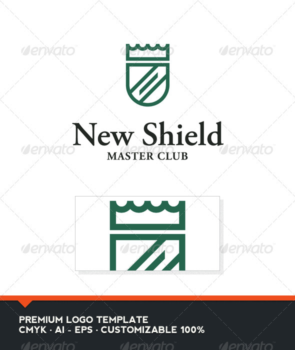 GraphicRiver New Shield Logo Template 3918039