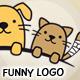 Funny Animals Logo - GraphicRiver Item for Sale