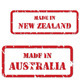 Made in Australasia Rubber Stamps - GraphicRiver Item for Sale