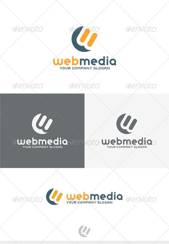 GraphicRiver Web Media Logo 3820798
