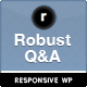 Robust Q&amp;amp;A - ThemeForest Item for Sale
