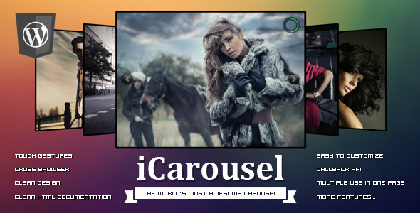 iCarousel™ - Wordpress - CodeCanyon Item for Sale