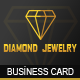 Diamond Jewelry - Business Card - GraphicRiver Item for Sale