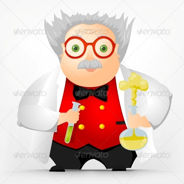 GraphicRiver Cheerful Chubby Man 3924175