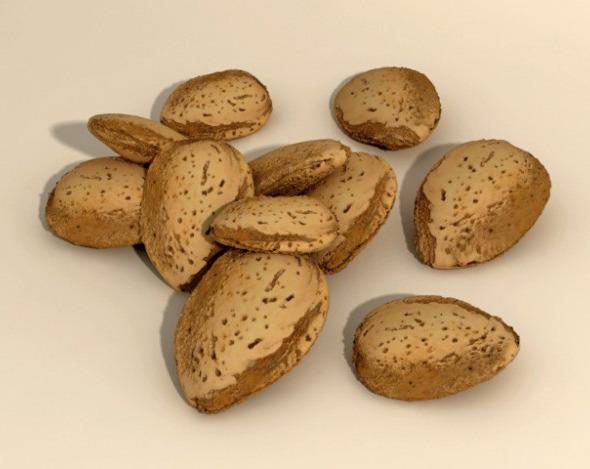 3DOcean Almonds in Shell 3924679