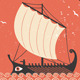 Greek Ship - GraphicRiver Item for Sale