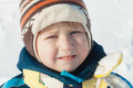 Portrait of boy in winter cloths outdoors - PhotoDune Item for Sale