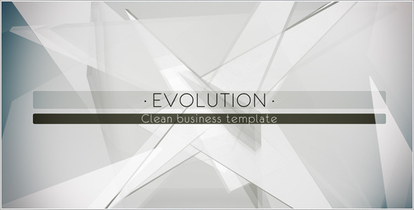 After Effects Project - VideoHive Evolution Business Template 423311