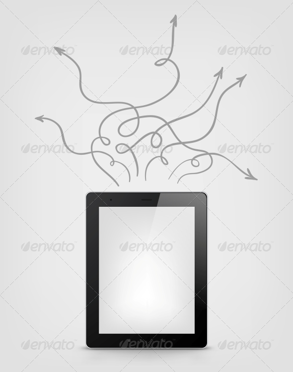 GraphicRiver Digital Tablet Concept 3925890