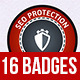 SEO Badges - GraphicRiver Item for Sale