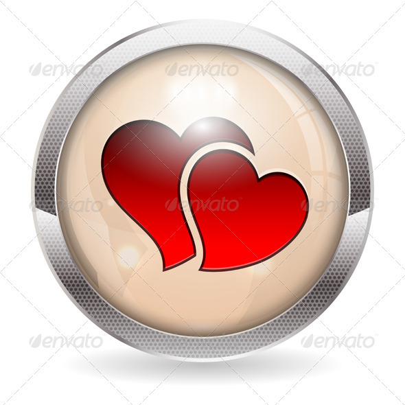GraphicRiver Valentine Button 3926688