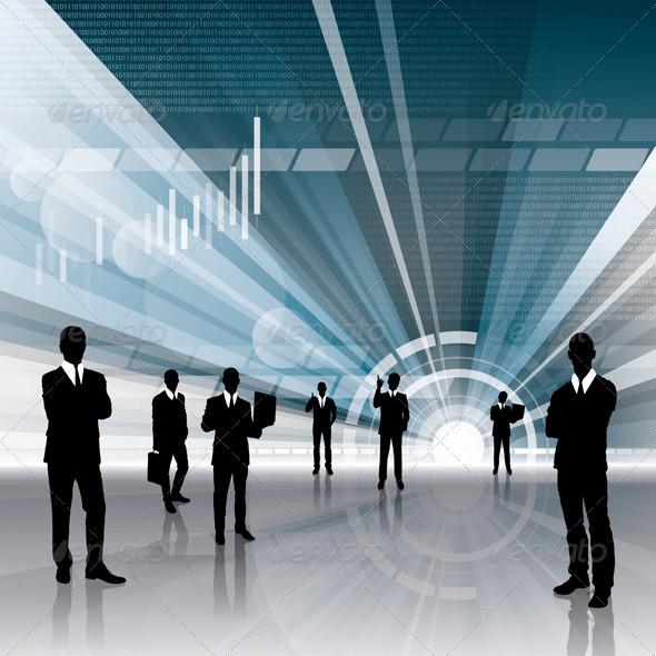 GraphicRiver Conceptual Business Background 3926693