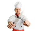 Chef with tools - PhotoDune Item for Sale