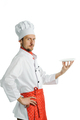 Chef with a dish - PhotoDune Item for Sale