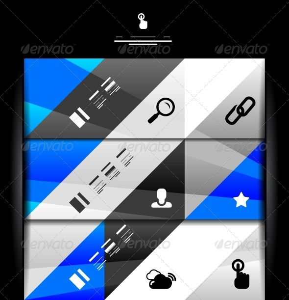 GraphicRiver Modern Geometric Infographic Banner Template 3927534
