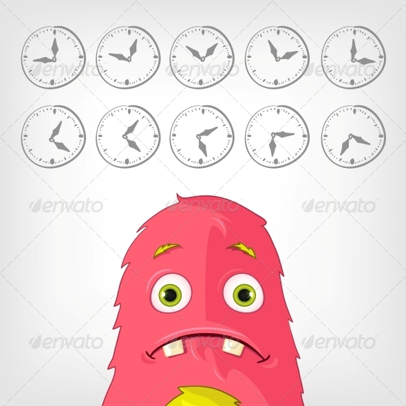 GraphicRiver Funny Monster 3929537