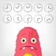 Funny Monster. - GraphicRiver Item for Sale