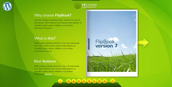 FlipBook v7 - WordPress Plugin  - CodeCanyon Item for Sale