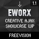 eWorx - Kreatif Ajax Showcase Wordpress Theme - Perkara WorldWideThemes.net untuk Dijual