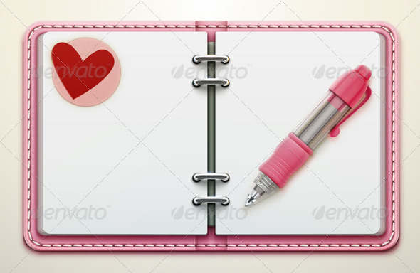GraphicRiver personal organiszer 3932988