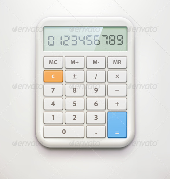 GraphicRiver calculator 3933000