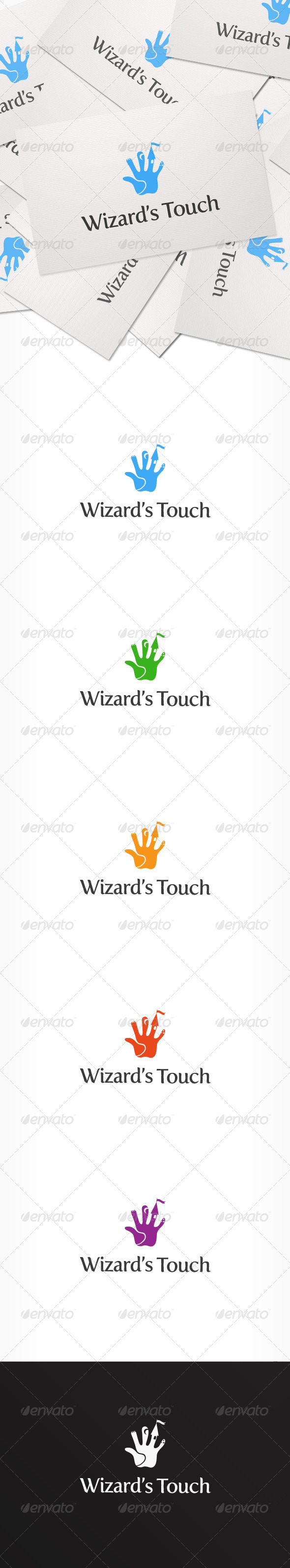 GraphicRiver Wizard's Touch Logo 3933080
