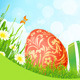 Beautiful Easter Holiday Background - GraphicRiver Item for Sale